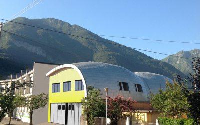 Auditorium-Pisogne---Copertura-in-zinco-titanio